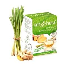 Singabera Premium Ginger Prink Lemongrass - Pack Of 2