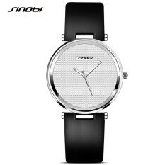 Harga Sinobi Fashion Women Wrist Watches Kulit Watchband Top Merek Mewah Wanita Jam Kuarsa Wanita Jam Tangan Intl Lengkap