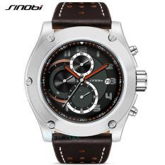 Jual Sinobi Jam Tangan Analog Speedometer Style Watch Hitam Coklat Antik