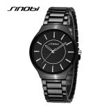 Harga Sinobi Baru Slim Clock Men Casual Sport Quartz Watch Pria Watches Top Brand Luxury Kuarsa Watch Pria Jam Tangan Intl Baru Murah