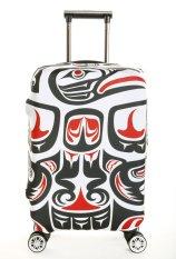 Spesifikasi Koper Cover Untuk 22 24 Inch Bagasi Elastis Dicetak Pelindung Penutup Bagasi Hanya Menjual Cover Bagus