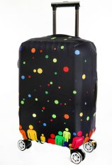 Beli Cover For 22 To 24 Inch Suitcase Luggage Cover Protector Suitcase Cover Only Cover Yang Bagus