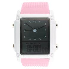Jual Beli Online Skmei 0814 Pria Olah Raga Waterproof Square Dial Digital Wrist Watch