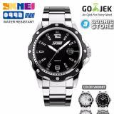 Review Pada Skmei Jam Tangan Pria Cowok Analog Stainless Steel Water Resistant 0992 0992Cs Original Hitam