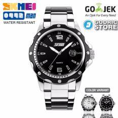 Jual Beli Online Skmei Jam Tangan Pria Cowok Analog Stainless Steel Water Resistant 0992 0992Cs Original Hitam