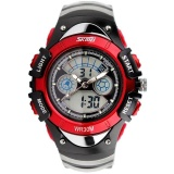 Jual Skmei 0998 Kids Watches Sports Digital Rubber Waterproof 3Bar Gift Watches Student Stopwatch Red Intl Skmei Asli