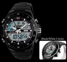 Spesifikasi Skmei 1016 Pria Olahraga Watches Digital Og Alarm Tahan Air Jam Tangan Multifungsi Yang Militer Hitam Putih Murah