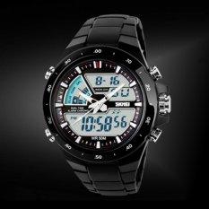Harga Skmei 1016 Men S Jam Tangan Pria Body Bezel Hitam New Sport Watch Terbaik