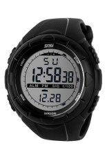 Ulasan Skmei 1025 Digital Watch Sporty Watch Hitam Kualitas Original Garansi 1 Bulan