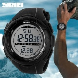 Beli Skmei 1025 Men S Sports Personality Creative Large Dial Watch Black Intl Cicilan