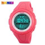 Jual Beli Skmei 1025 Women S Sports Wristwatches Shows Time Digital Led Military Sports Watch Fashion Casual Electronics Watches Red Intl Baru Tiongkok