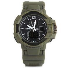 Harga Skmei 1040 Jam Tangan Pria Sport Analog Digital Silikon Pu 48 Mm Anti Air 50 M Renang Water Resistant Watches Skmei Asli