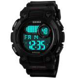 Jual Skmei Digital Shock Militer Water Resistant Anti Air Wr 50M Dg1054 Jam Tangan Pria Sport Trendy Casual Watch Hitam Murah