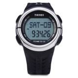 Beli Skmei 1058 Denyut Jantung Olahraga Led Watch Dengan Pedometer Fungsi Tahan Air Intl Online