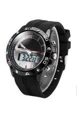Tips Beli Skmei 1064 Pria Black Rubber Strap Watch Intl Tc