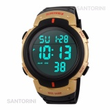 Pusat Jual Beli Skmei 1068 Jam Tangan Pria Fashion Casual Waterproof Led Digital Sport Men Watch Gold Jawa Barat