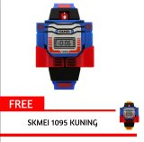 Toko Skmei 1095 Biru Kid S Fashion Robot Style Digital Display Assemble Toy Watch Intl Free 1 Pcs Skmei 1095 Kuning Kid S Fashion Terlengkap Indonesia