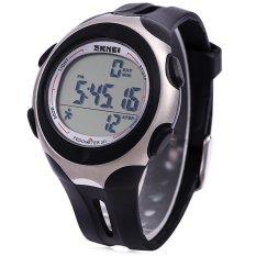 Harga Skmei 1107 Tahan Air Led Digital Analog Sports Watch Men Wristwatch Dengan Tanggal Waktu Kalender Hitam Yg Bagus