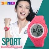 Beli Skmei 1108 Wanita S Watch Fashion Pedometer Digital Kebugaran Untuk Pria Wanita Olahraga Outdoor Jam Tangan Rose Red Intl Seken