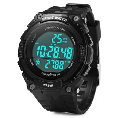 Skmei 1112 Sports Men Watch with Pedometer 3D Function 5ATM Water Resistant - intl