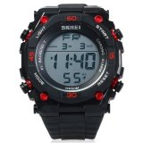 Skmei 1130 Sports Pria Digital Jam Tangan 5Atm Tahan Air Merah Intl Original