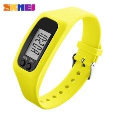Harga Skmei 1207 Wanita S Fashion Colorful Silikon Tali Olahraga Watches Pedometer Kalori Sport Mileage Digital Watch Kuning Kuning Skmei Online