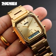 Pusat Jual Beli Skmei 1220 Pria Quartz Digital Sport Wristwatch Fashion Bisnis Dual Time Jam Tangan Lampu Belakang Tahan Watch Relogio Masculin Dki Jakarta
