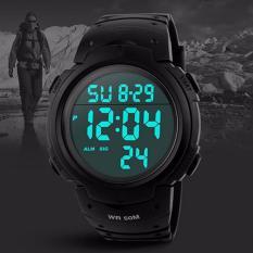 SKMEI 1231 SKMEI 1231 Outdoor Man Olahraga Jam Tangan Kompas Hiking Digital LED Elektronik Watch