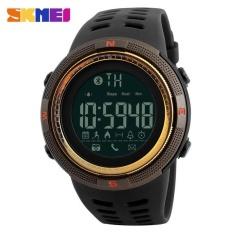 Toko Skmei 1250 Jam Tangan Pria Smartwatch Gaya Sporty Dengan Pedometer Kalori Bluetooth Dan Chronograph Online Terpercaya