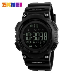 Harga Skmei 1256 Pria Fashion Smart Langkah Bluetooth Koneksi Elektronik Jam Hitam Intl Yang Bagus