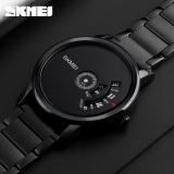 Review Skmei 1260 Quartz Sportwatch Jam Tangan Pria Black Edition Tiongkok