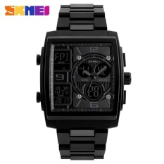 SKMEI 1274 Men's Electronic Watch Multi-function Outdoor Sports Electronic Watches Black - intl