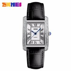 Review Pada Women Leather Strap Fashion Wristwatches Retro Relogio Feminino Jam Tangan Wanita Skmei 1281
