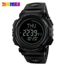 Spesifikasi Skmei 1290 Pria Fashion Multi Fungsi Watch Olahraga Outdoor Kompas Watch Gray Intl Yang Bagus