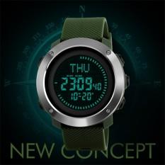 SKMEI 1231 Outdoor Man Olahraga Compass Watches Hiking Digital LED Elektronik Watch