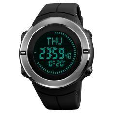 Skmei 1294 50 M Tahan Air Pria Digital Olahraga Jam Tangan Dengan Kompas-Hitam-Internasional By Extreme Deals.