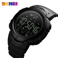SKMEI 1301 Men Smart Watch Chrono Calories Pedometer Multi-Functions Sports Watches Reminder Digital Wristwatches Relogios Clock - intl