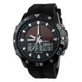 Harga Skmei 2016 Baru Merek Fashion Pria Olahraga Lari Jam Stopwatch Digital Led Multifungsi Militer Luar Ruangan Pakaian Jam Tangan Kasual Jam Energi Matahari Jam Tangan Internasional Termurah