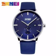 Harga Skmei 9083 Jam Tangan Pria Mewah Merek Skmei Genuine Leather Strap Jam Tangan Pria Kasual Watch Skmei Original