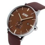 Harga Skmei 9083 Jam Tangan Pria Merek Mewah Skmei Genuine Leather Strap Jam Tangan Pria Casual Watch Intl Paling Murah