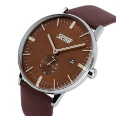 Spesifikasi Skmei 9083 Jam Tangan Pria Merek Mewah Skmei Genuine Leather Strap Jam Tangan Pria Casual Watch Intl Beserta Harganya