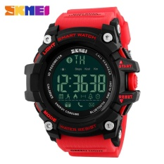 Spesifikasi Skmei Merek Watch 1227 Pria Sport Smart Fashion Luar Ruangan Digital Watches Kebugaran Tracker Bluetooth Big Dial Arloji Yg Baik