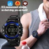 Skmei Merek Watch 1180 Laki Laki Hidup 3D Pedometer Heart Rate Monitor Kalori Counter Kebugaran Tracker Digital Tampilan Watch Kolam Olahraga Jam Tangan Skmei Diskon 40