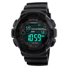 Obral Skmei Merek Watch 1243 Pria Digital Watch Countdown Chronograph Jam Tangan Double Time Alarm Sport Jam Tangan 50 M Tahan Air Relogio Masculino Intl Murah