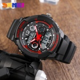 Skmei Merek Watch Anak Olahraga Watches 50 M Tahan Air Fashion Kasual Quartz Digital Watch Boys Gadis Dipimpin Jam Tangan Multifungsi 1060 Murah
