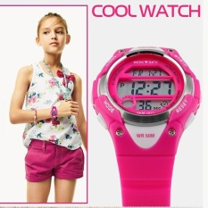 Jual Skmei Merek Watch Children Watches Digital Watch Olahraga Alarm Stopwatch Jam 50 M Waterproof Dress Watches Malam Children Function1077 Online Di Tiongkok