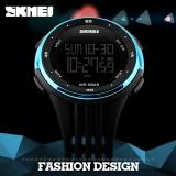 Skmei Merek Watch Digital Jam Tangan Pria Outdoor Sport Watches Chronograph Fashion Jam Pu Band Tahan Air Relogio Masculino Watch1219 Tiongkok Diskon 50