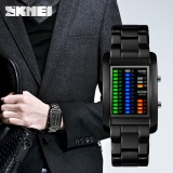 Skmei Merek Watch Mode Persegi Digital Pria Elektronik Led Air Tahan Digital Jam Tangan Hewan Hewan Fantastic Solid Unisex 1103 Intl Skmei Diskon 30