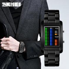 Jual Skmei Merek Watch Mode Persegi Digital Pria Elektronik Led Air Tahan Digital Jam Tangan Hewan Hewan Fantastic Solid Unisex 1103 Intl Skmei Ori