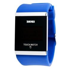 Spesifikasi Skmei Merek Watch Mode Silikon Tahan Air Jelly Led Menyentuh Layar Jam Digital Elektronik Unisex Siswa Kasual Jam Tangan Pria Wanita 0983 Intl Terbaik